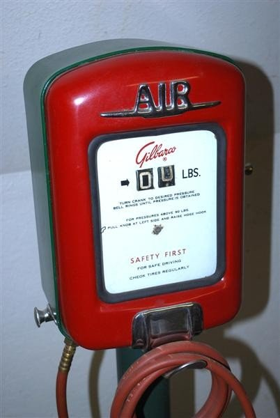 192: Gilbarco Air Meter on stand,