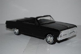 "1007: 1965 Ford Falcon Convertible ""Raven Black"" promo"