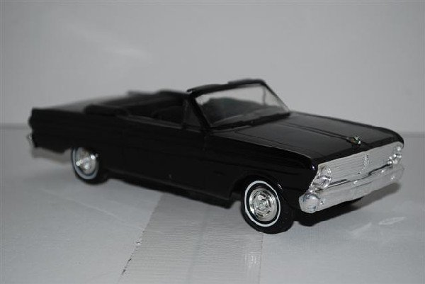 "1007: 1965 Ford Falcon Convertible ""Raven Black"" promo"