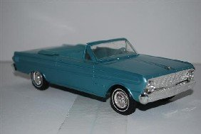 """1008: 1964 Ford Falcon """"Sprint"""" Convertible, blue, prom"""