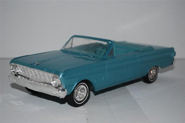 "1008: 1964 Ford Falcon ""Sprint"" Convertible, blue, prom - 2"
