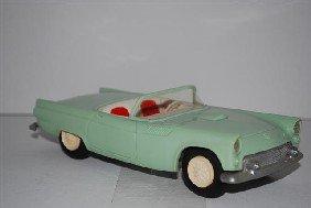 "1009: 1955 Ford Thunderbird Convertible ""Sea Foam Green"