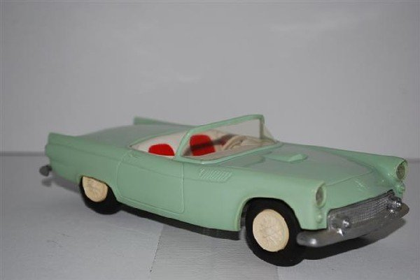 "1009: 1955 Ford Thunderbird Convertible ""Sea Foam Green"