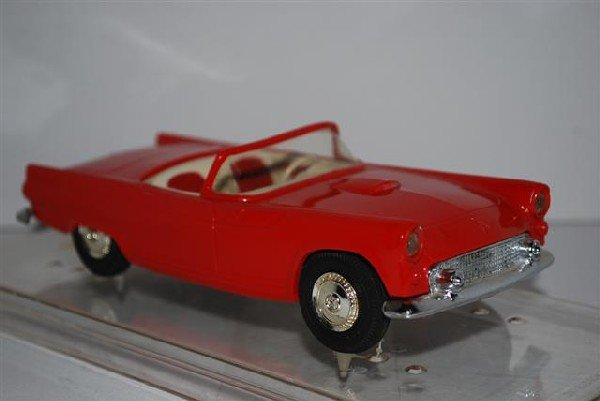 1010: 1955 Ford Thunderbird Convertible, Red, promo car