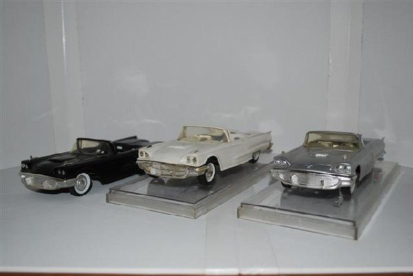 1013: 3-1959 Ford Thunderbird Convertibles, promo cars,