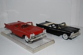 2-1959 Ford Thunderbird Convertibles, Promo Cars,