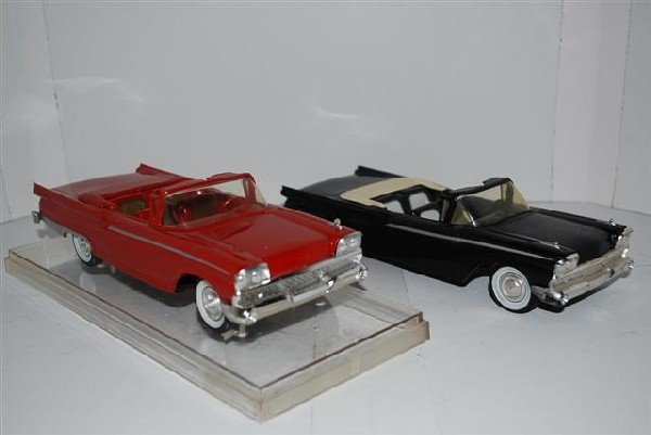1014: 2-1959 Ford Thunderbird Convertibles, promo cars,
