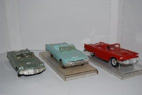 1015: 2-1960 Ford Thunderbird Convertibles & 1961, prom
