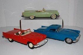1016: 3-1957 Ford Thunderbird Convertibles promo cars,