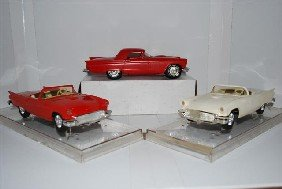 3-1957 Ford Thunderbird Convertibles & Coupe Prom