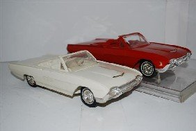 1021: 2-1963 Ford Thunderbird convertibles, one with bo