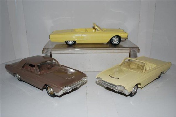 1022: 2-1963 Ford Thunderbirds & 1965 Convertible promo