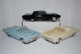 1023: 3-1963 Ford Thunderbirds promo cars, 2-convertibl