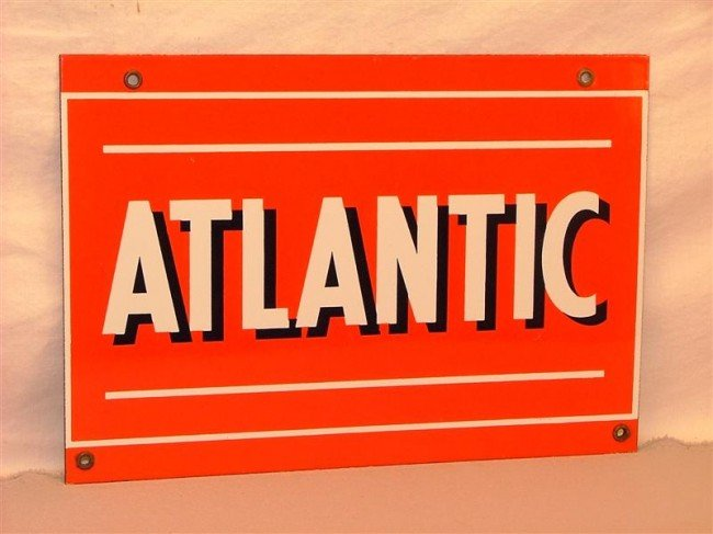 "11: ""Atlantic""  PPP sign 9x13"
