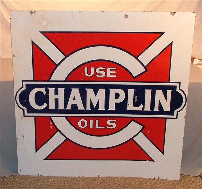 "16: ""Use CHAMPLIN Oils""  DSP sign - 2"