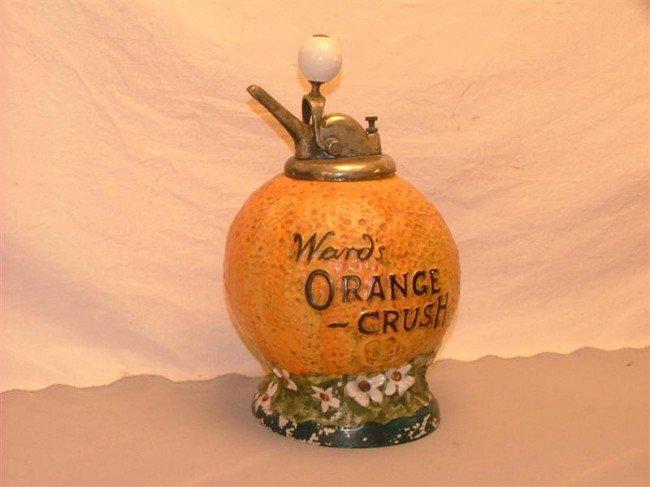30: Wand's Orange Crush  syrup dispenser 14 inches high