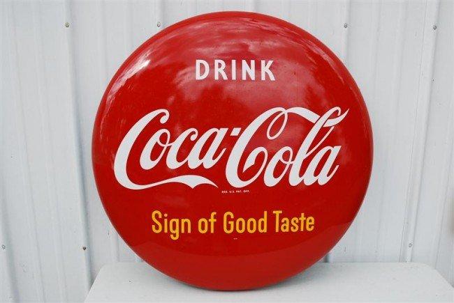 """51: Drink Coca-Cola """"Sign of Good Taste""""  SST bottle ca"""