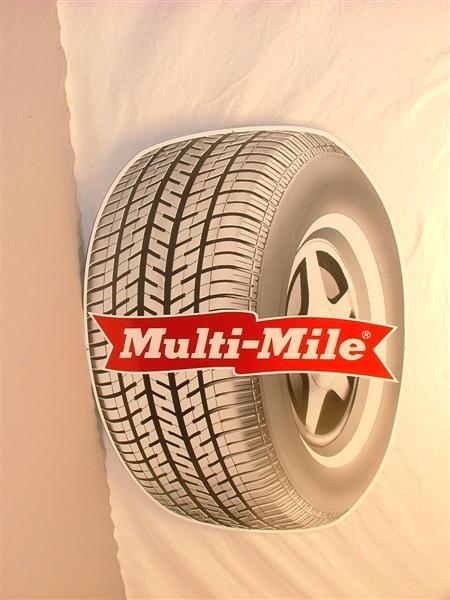 455: Multi-Mile tire  SST sign 31x23