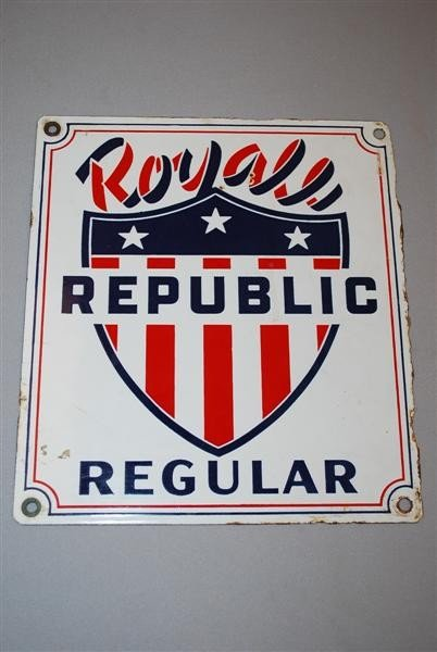 4: Royal Republic Regular PPP sign, 11x10 inches,
