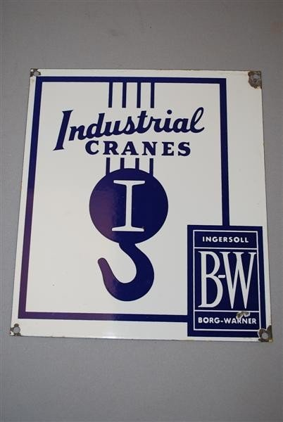 12: Industrial Cranes Ingersoll Borg-Warner with great