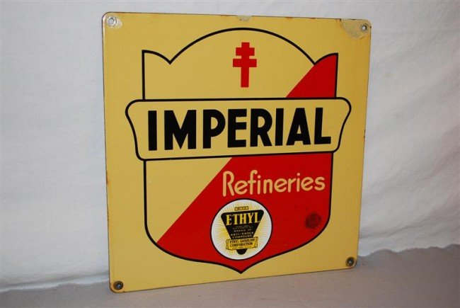 19: Imperial Refineries with ethyl logo, PPP sign, 12x1
