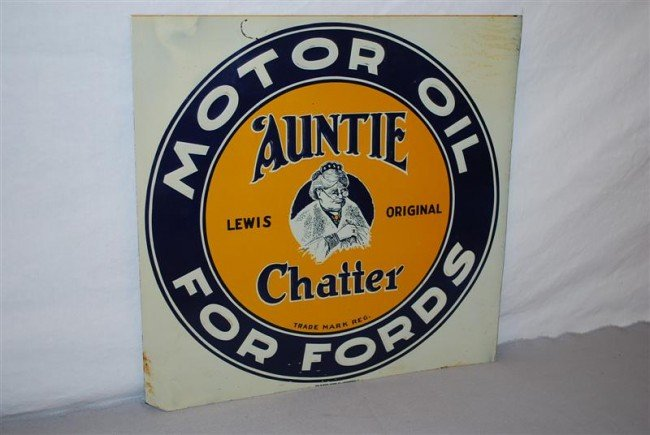 23: Lewis Original Auntie Chatter Motor Oil for Fords w