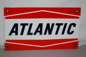 Atlantic (bent Lines)  PPP Sign, 7.5x13 Inches,