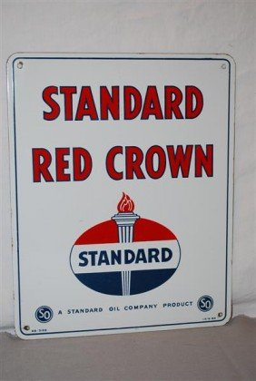 Standard Red Crown With Logo, PPP Sign, 15x12 Inche