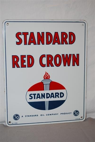 34: Standard Red Crown with logo, PPP sign, 15x12 inche