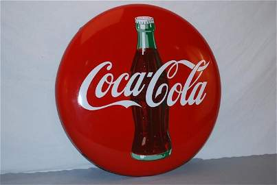 235: Coca-Cola with bottle graphics (red background) SS