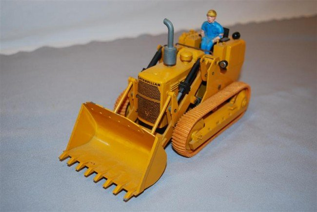 4: NZG Caterpillar Track Loader, no cab, diecast, 1/50