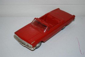 1963 Ford Galaxies Convertible Promo Car, Plastic,