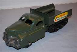 210 Buddy L HalfTrack Mobile Artillery Unit press st