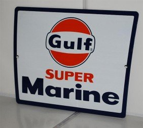 1: Gulf Super Marine with logo, SSP sign, 8.5x11.5 inch
