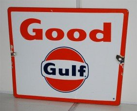 Gulf  With Logo, SSP Sign, 8.5x11.5 Inches,