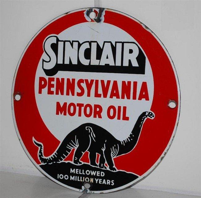 10: Sinclair Pennsylvania Motor Oil Mellowed 100 Millio
