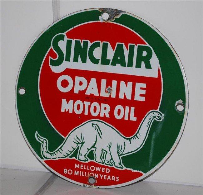 11: Sinclair Opaline Motor Oil Mellowed 80 Million Year