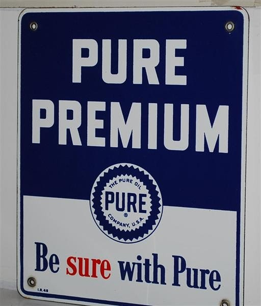 16: Pure Premium PPP sign, 12x10 inches,