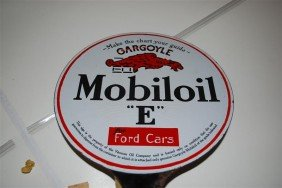 "22: Mobiloil ""E"" for Ford Cars with Gargoyle logo, DSP"