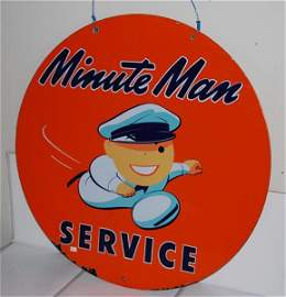 47: (Union) Minute Man Service with graphics, DSP sign,