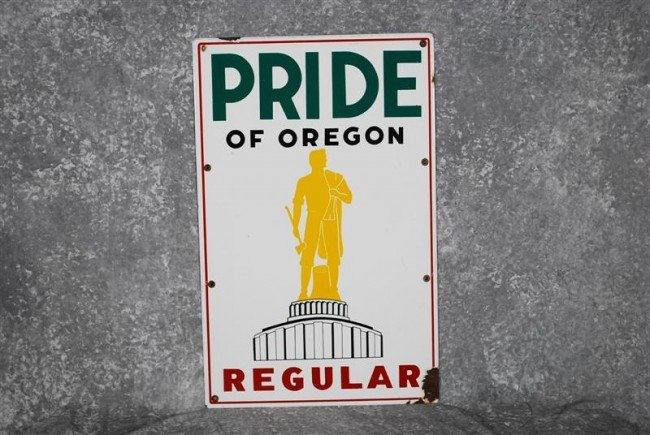 2: Pride of Oregon Regular with logo, PPP sign, 22x14 i