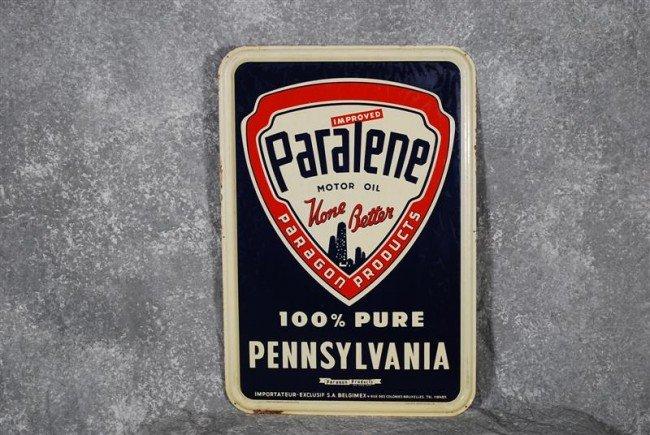 """12: Paralene Motor Oil """"None Better"""" with logo  SST emb"""
