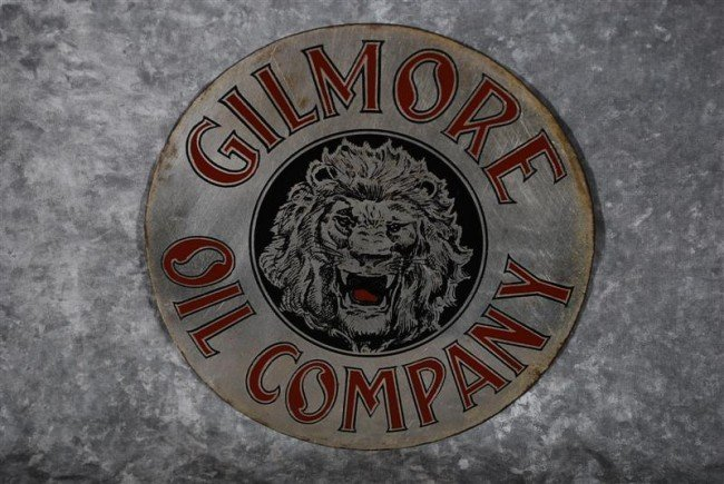 16: Gilmore Oil Company with logo, used on microphones,
