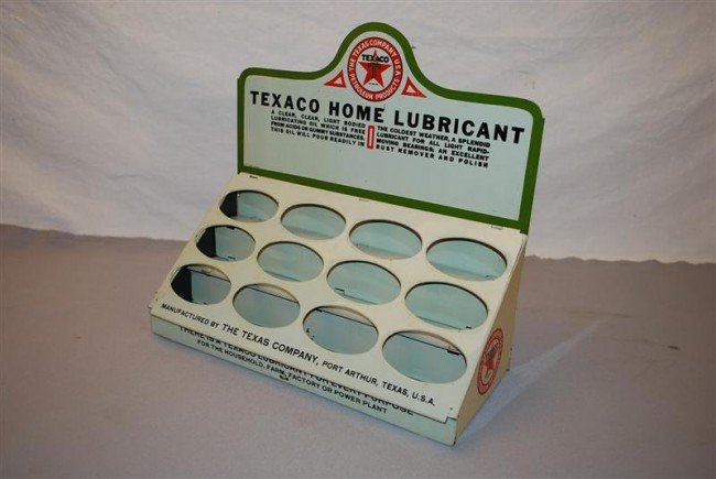 128: Extremely Rare Texaco Home Lubricant counter-top d