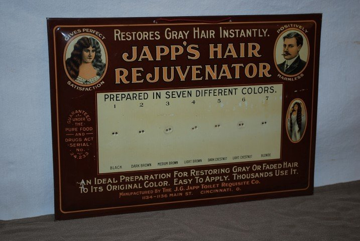 4: Japp's Hair Rejuvenator with good graphics, rated 9+
