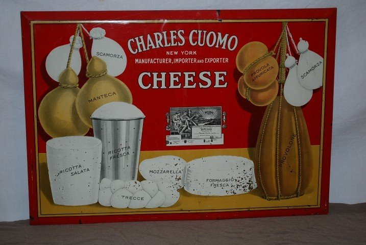 5: Charles Cuomo Cheese with nice graphics, rated 7, SS