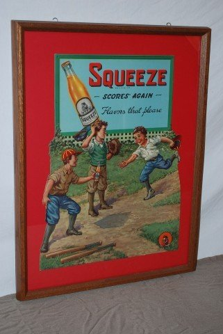 "6: Squeeze ""Score Again-Flavors that please"" with kids"