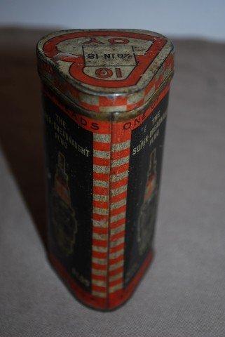 14: Red Head Big Boy spark plug and metal box, - 2