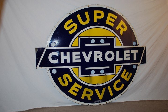 63: Super Chevrolet Service double neon, rated 8.9, SSP