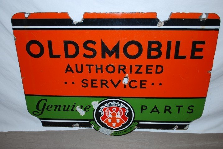71: Oldsmobile Authorized Service, rated 6.75,  DSP sig - 2